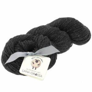 Slow Wool Lino 008 - Antrasit