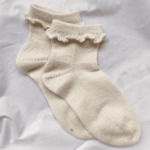 PetiteKnit Ruffle Socks
