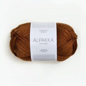Sandnes Alpakka 2564 Gyldenbrun
