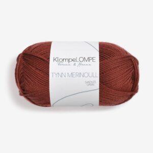 KlompeLompe Tynn Merinoull 3355 Rust