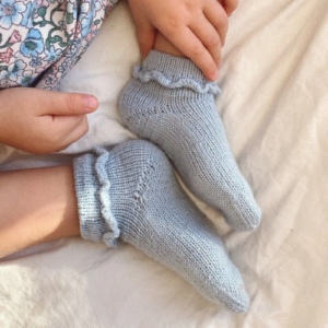 PetiteKnit Ruffle Socks Junior