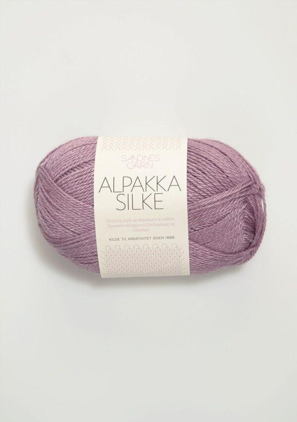 Alpakka Silke 4642 Lys Lyng