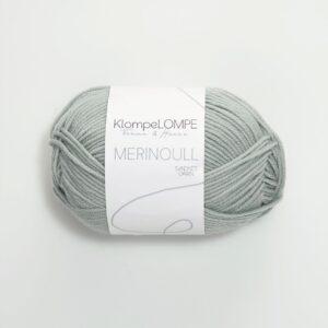 KlompeLompe Merinoull 6521 - Lys Blåpetrol