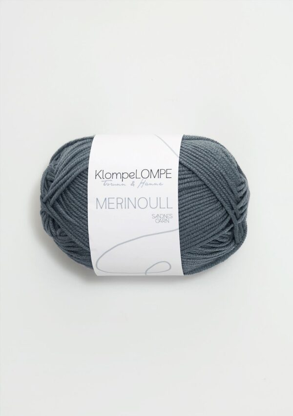 KlompeLompe Merinoull 6571 Blågrøn