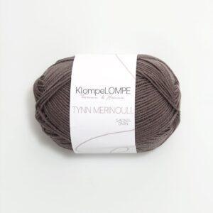 KlompeLompe Tynn Merinoull 2652 - Gråbrun