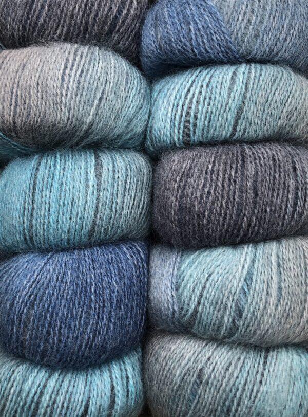 Dolce Multi farve 424 Grå og Blå