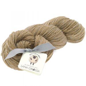 Lana Grossa Slow Wool Lino 002 Beige