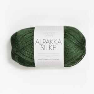 Garn Sandnes Alpakka Silke 8264 Grøn