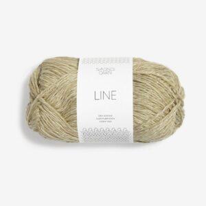 Garn Sandnes Line 9822 Lys Chinos Grøn