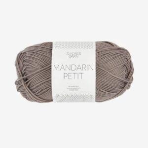 Garn Sandnes Mandarin Petit 3870 Hørbrun