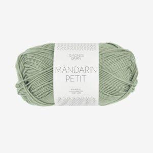 Garn Sandnes Mandarin Petit 9041 Støvet Lys Grøn