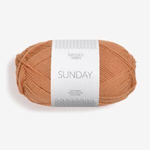 Garn Sandnes Sunday 2534 Fudge