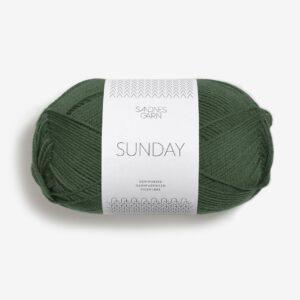 Garn Sandnes Sunday 8082 Skovgrøn