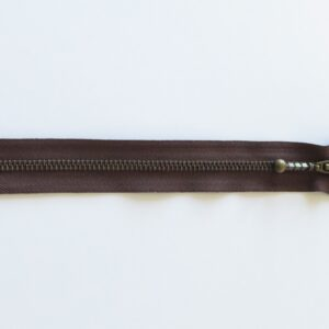 YKK lynlås 35 cm Brun