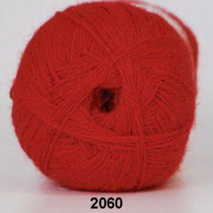 Garn Hjertegarn Alpaca 400 2060 Rød