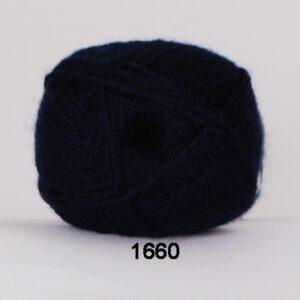 Garn Hjertegarn Bamboo Wool 1660 Marine