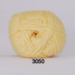 Garn Hjertegarn Bamboo Wool 3050 Gul