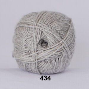 Garn Hjertegarn Bamboo Wool 434 Lys Grå