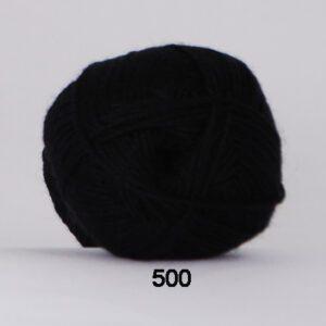 Garn Hjertegarn Bamboo Wool 500 Sort