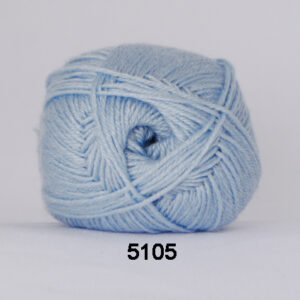 Garn Hjertegarn Bamboo Wool 5105 Lyseblå