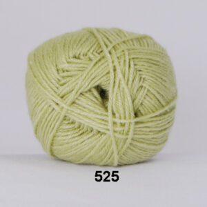 Garn Hjertegarn Bamboo Wool 525 Limegrøn