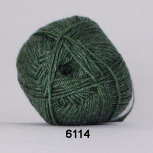 Garn Hjertegarn Bamboo Wool 6114 Grøn
