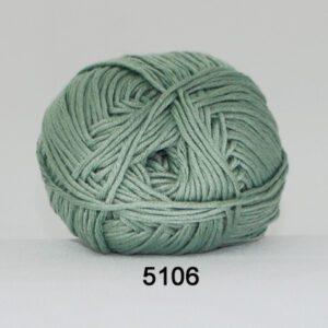 Garn Hjertegarn Blend Bamboo 5106 Lys Støvet Grøn