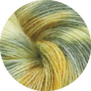Håndfarvet garn Lana Grossa Allora Hand-dyed 259 Badaam