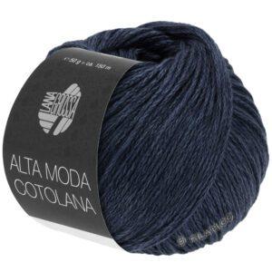 Garn Lana Grossa Alta Moda Cotolana 029 Meget mørk blå