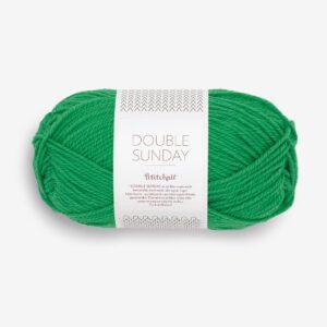 Garn Sandnes Double Sunday 8236 Statement Green