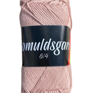 Billigt bomuldsgarn støvet rosa