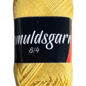 Billigt bomuldsgarn sart gul