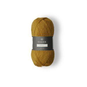 Garn Isager Alpaca 1 farve 3 Sennep