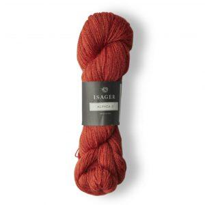 Garn Isager Alpaca 2 farve 21 Rød