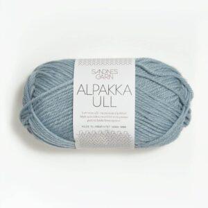 Garn Sandnes Alpakka Ull 6531 Isblå