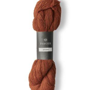 Garn Isager Spinni farve 1s Rust