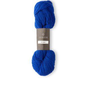 Garn Spinni farve 44 Koboltblå
