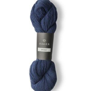 Garn Isager Spinni farve 54 Blå