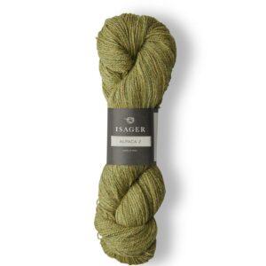Garn Isager Alpaca 2 farve Thyme