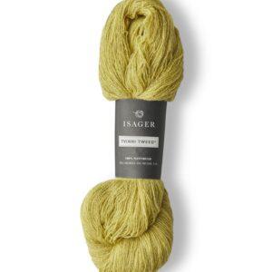 Garn Isager Tvinni farve 35s Gulgrøn