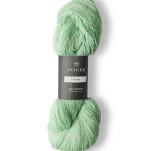 Garn Isager Tvinni farve 46 Pistaciegrøn