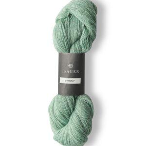 Garn Isager Tvinni farve 46s Meleret Pistaciegrøn