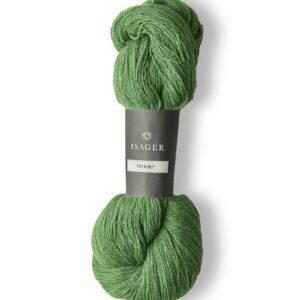 Garn Isager Tvinni farve 56s Meleret græsgrøn