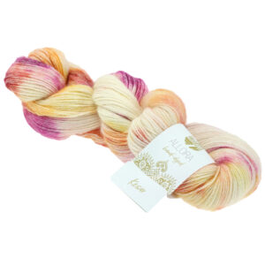 Garn Lana Grossa Allora Hand-Dyed 258 Kesar