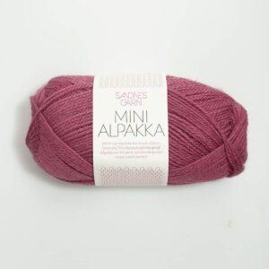 Garn Mini Alpakka 4644 Blomme