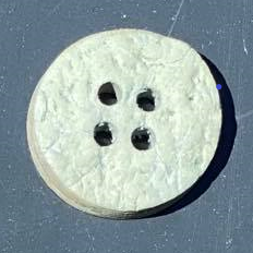 Kokosknap 15 mm aqua
