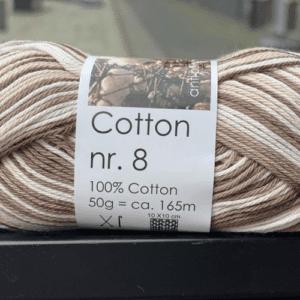 Bomuldsgarn Cotton nr. 8 602