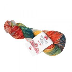 Garn Meilenweit Merino Hand-Dyed 408 Tapi