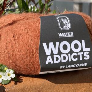 Garn WoolAddicts Water 0015 Rødbrun
