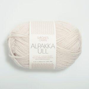 Garn Sandnes Alpakka Ull 1015 Kit